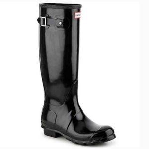 Hunter   Tall Gloss Rainboots